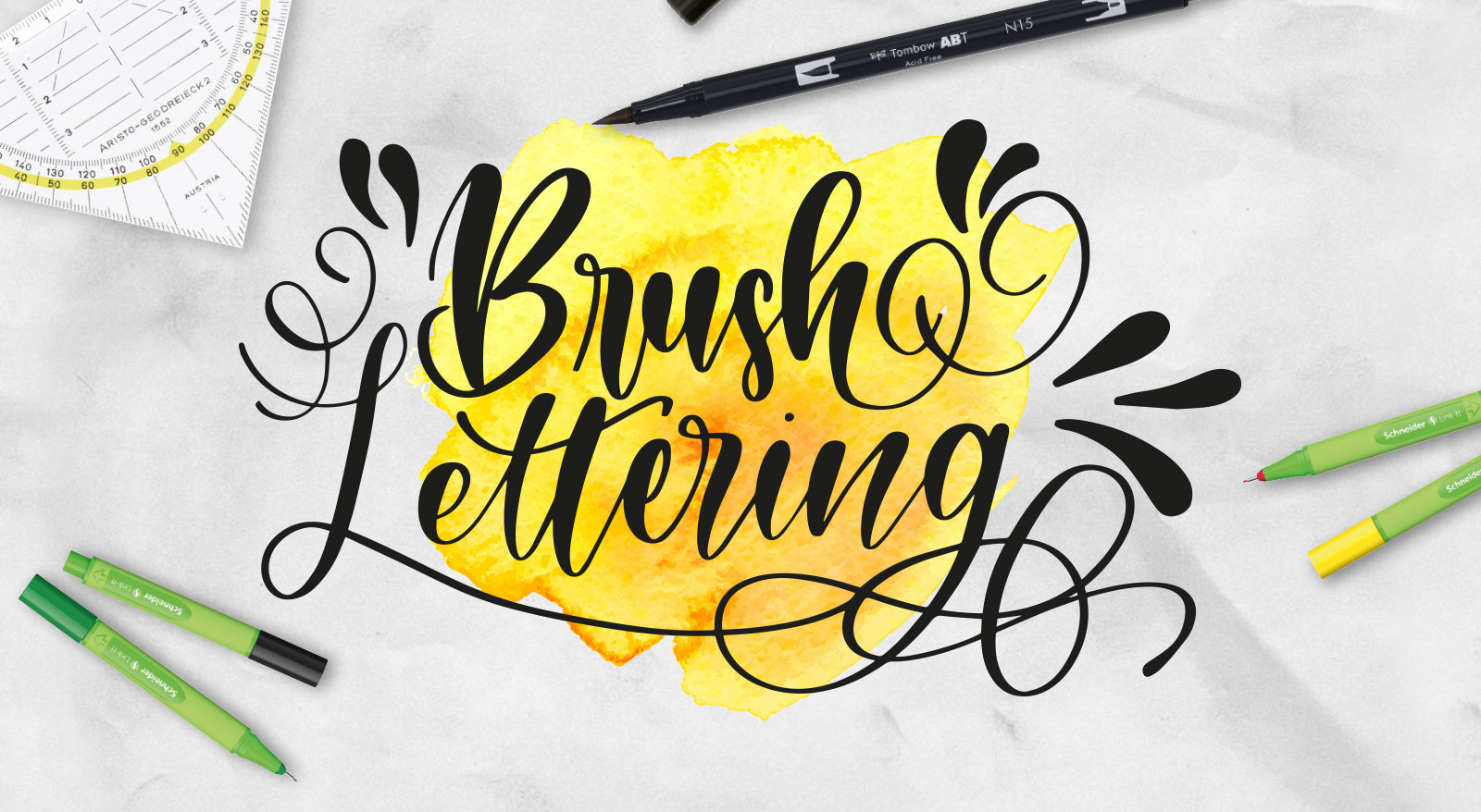 Brush Lettering & Bullet Journaling