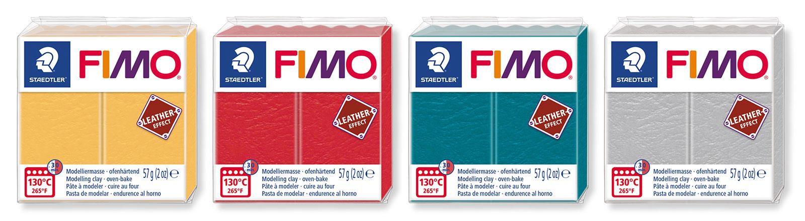 Fimo Leathereffect - Blocks