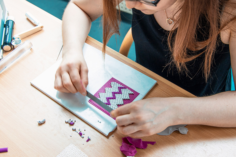 Fimo Workshop - Muster erstellen