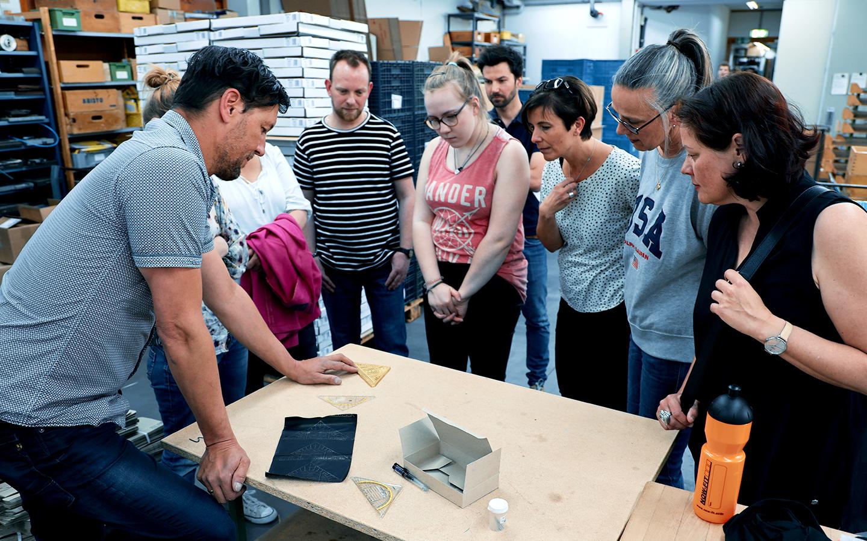 GEOtec Workshop Produktion