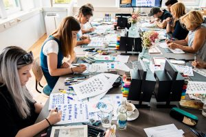 Tombow Workshop Gruppe 2