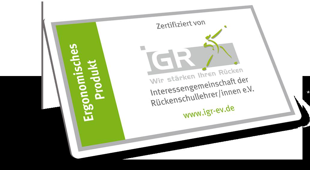 Zertifiziert von IGR