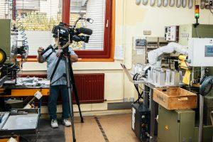 ORF Tirol - Geodreieck - Roboter