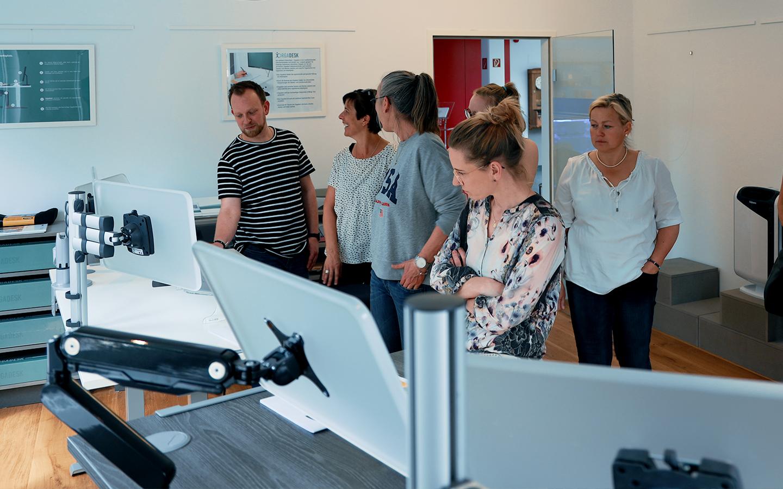 GEOtec Workshop Ergonomie Raum