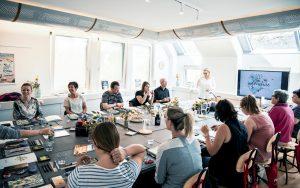 GEOtec Workshop Katja Haas mit Gruppe